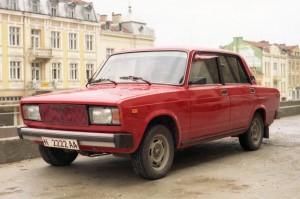 A photo of a Lada